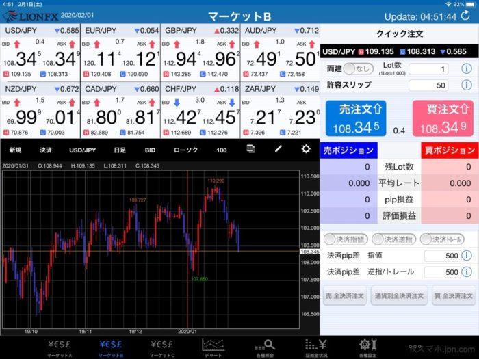 ヒロセ通商(iPadアプリ)横画面ホーム
