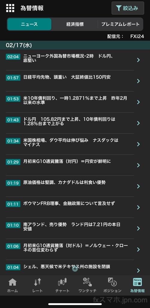 外貨ex(YJFX!)の為替ニュース配信情報